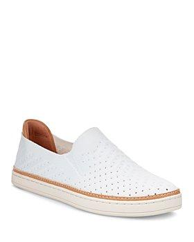 UGG® - Women's Sammy Chevron Knit Slip-On Sneakers