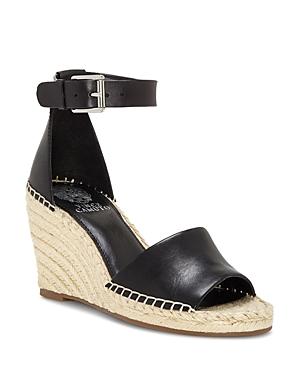 Vince Camuto Sandals Women's Leera Suede Espadrille Wedge Sandals