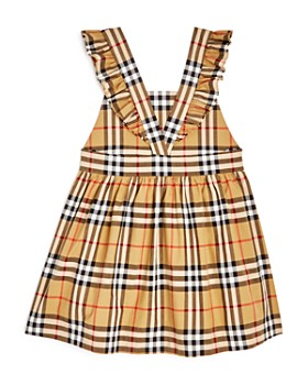 1d4c2b138078 ... Burberry - Girls  Ruffle Vintage Check Dress - Little Kid