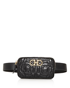 Salvatore Ferragamo - Gancini Quilted Leather Belt Bag