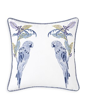 """Yves Delorme - Plumes Decorative Pillow, 18"""" x 18"""""""