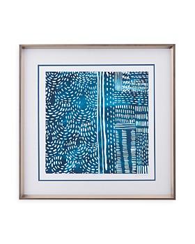 Bassett Mirror - Sashiko Stitches II Wall Art