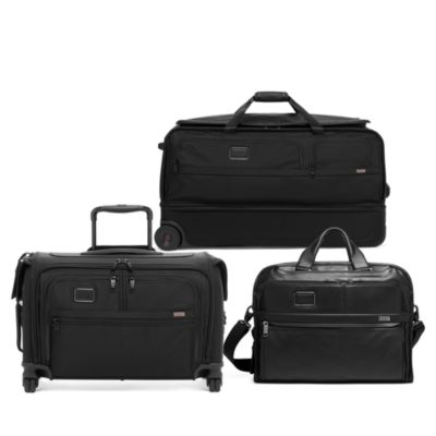 Alpha 3 Leather Compact Laptop Brief Pack