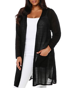 Belldini Plus - Long Open Cardigan
