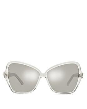 71e0e93163f CELINE - Women s Mirrored Butterfly Sunglasses