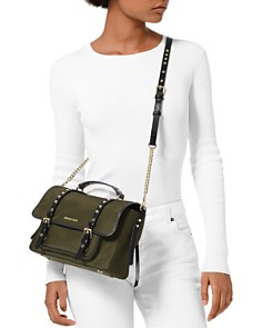 MICHAEL Michael Kors - Lelia Medium Nylon Messenger Bag