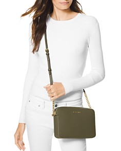 MICHAEL Michael Kors - Jet Set Large Saffiano Leather Crossbody