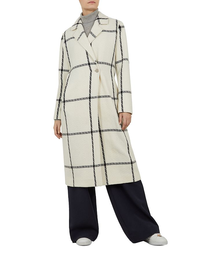 Ted Baker - Soniq Checkered Coat