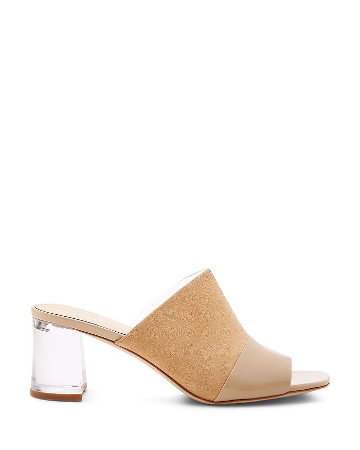 Botkier - Women's Decker Mixed-Media Slide Sandals