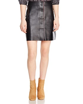 e807fc147 Sandro - Milla Leather Skirt ...