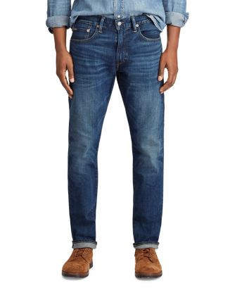 Varick Slim Straight Fit Jeans In Rockford by Polo Ralph Lauren