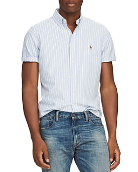 3b4a6971 Polo Ralph Lauren - Striped Classic Fit Button-Down Shirt ...