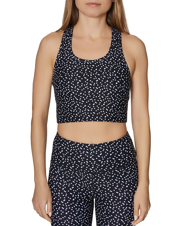 2879ed4bf Betsey Johnson - Dot-Print Sports Bra