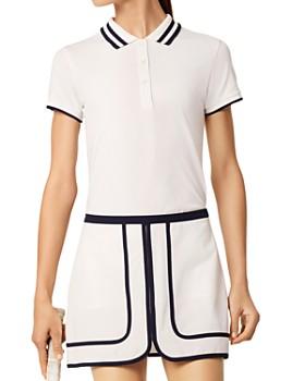 Tory Sport - Pleated-Collar Polo Shirt