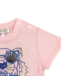 Kenzo - Girls' Tiger & Logo Fleece T-Shirt Dress - Baby