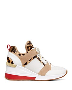 MICHAEL Michael Kors - Women's Georgie Mixed-Media Sneakers