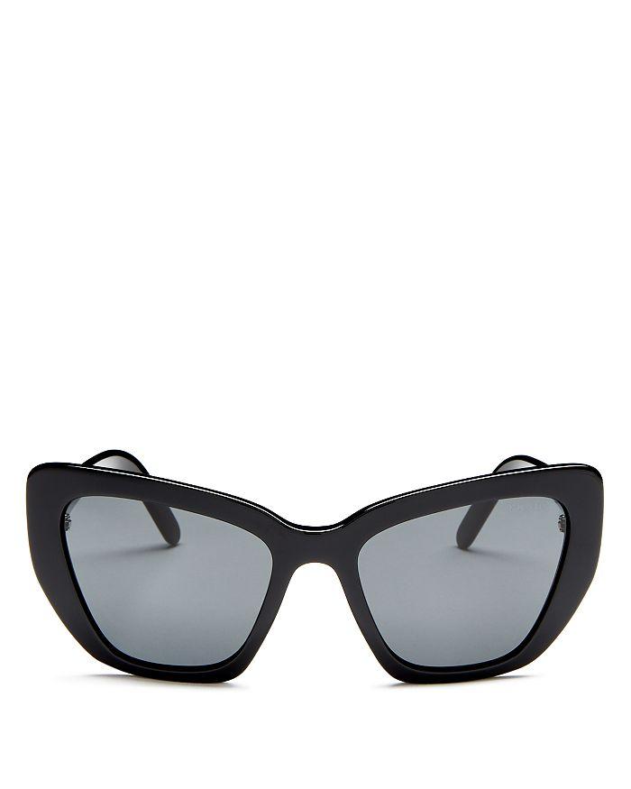 394473c544bf Prada Women's Cat Eye Sunglasses, 55mm | Bloomingdale's