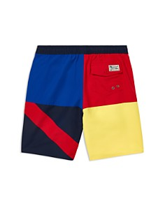Ralph Lauren - Boys' Captiva Flag Swim Trunks- Big Kid