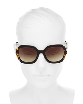 1b2a53c0e7f9 ... 54mm Prada - Women's Square Sunglasses, 54mm