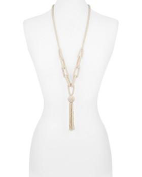 358df1ca788 ... AQUA - Seed Bead Tassel Necklace