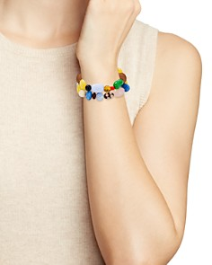 AQUA - Multicolor Beaded Stretch Bracelets - 100% Exclusive