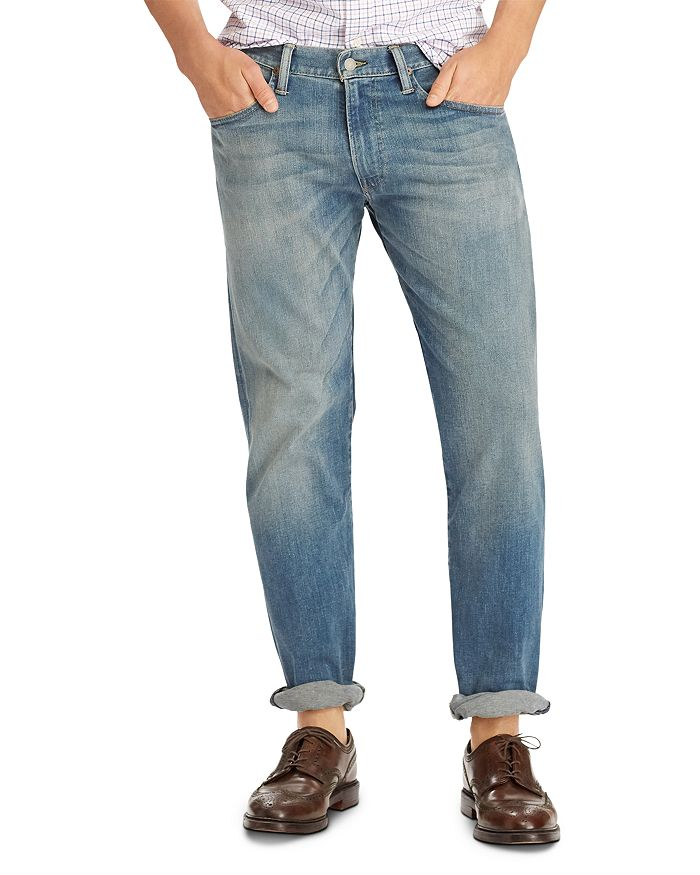 factory outlets 100% authentic wholesale Hampton Relaxed Straight Fit Jeans in Blue
