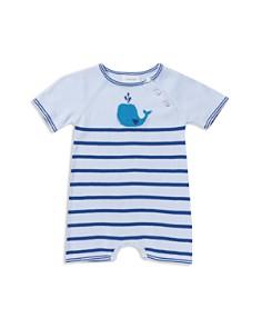 Angel Dear - Boys' Whale Knit Romper - Baby