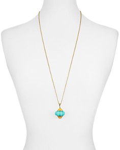 kate spade new york - Cake Pendant Necklace, 30""