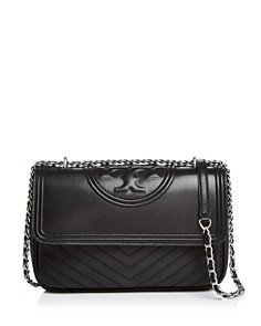 Tory Burch - Fleming Distressed Convertible Shoulder Bag