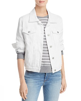 Hudson - Trucker Denim Jacket in White