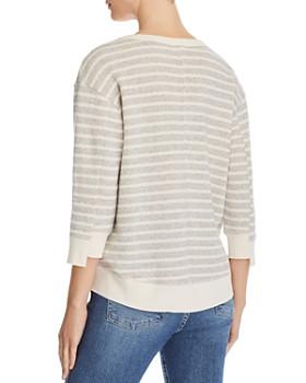 Wilt - Striped Drop-Shoulder Sweatshirt