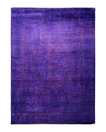 """Solo Rugs - Morganite Vibrance Area Rug, 5'1"""" x 7'6"""""""