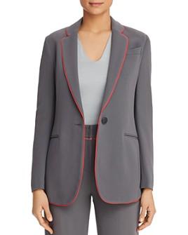 Armani - Piped Single-Button Blazer