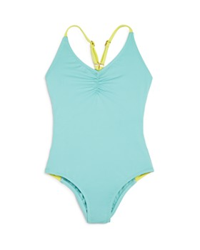 2bf140fdba L*Space - Girls' Little Leilani Racerback One-Piece Swimsuit - Little Kid  ...