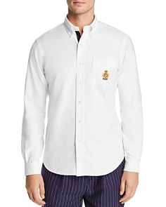Polo Ralph Lauren - Embroidered Crest Slim Fit Oxford Button-Down Sport Shirt - 100% Exclusive