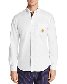 Polo Ralph Lauren - Yale Embroidered Crest Slim Fit Oxford Button-Down Sport Shirt - 100% Exclusive