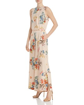 Marella - Nankin Floral Wide-Leg Jumpsuit - 100% Exclusive