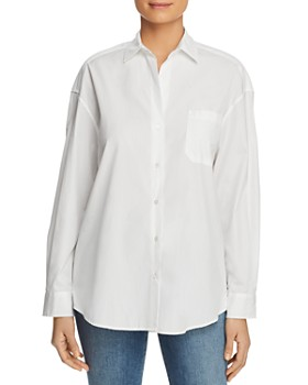 75d2e36e73f14a Weekend Max Mara - Locusta Cotton Button-Down Shirt ...