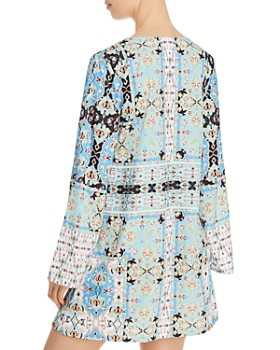 Nanette Lepore - Tapestry Tunic Swim Cover-Up - 100% Exclusive