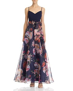 Eliza J - Floral Ball Gown