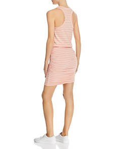 Sundry - Striped Ruched Tank Dress