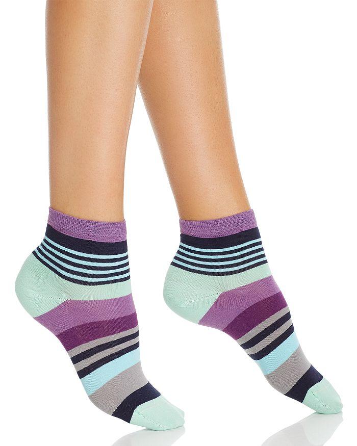Happy Socks STRIPED ANKLET SOCKS