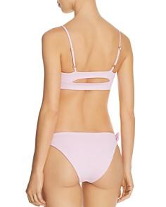 L*Space - Flashback Bralette Bikini Top & Sensual Solids Carusso Bikini Bottom