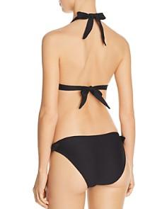 Shoshanna - Ring Halter Bikini Top & Classic Bikini Bottom