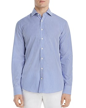 Dylan Gray - Bengal Striped Classic Fit Shirt - 100% Exclusive