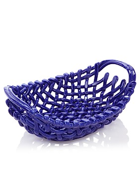 VIETRI - Large Woven Basket - 100% Exclusive