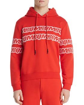 McQ Alexander McQueen - Logo-Stripe Hooded Sweatshirt