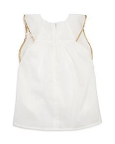 Chloé - Girl's Gold-Tone Piping Dress - Baby