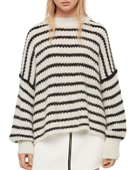 2cff64055 ALLSAINTS - Renne Striped Sweater ...