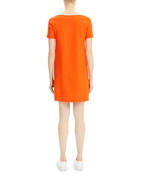 Theory - Paneled Mini Shift Dress
